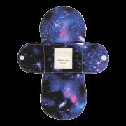 【ホルダー単品】 布ナプキン・Sサイズ 【宇宙柄 ラピスラズリ】