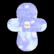 【ホルダー単品】 布ナプキン・Sサイズ 【宇宙柄 アクアソーダ】
