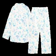 【至福の夢見るパジャマ】ウォーターローズ【ブルー】