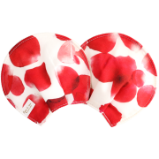 【マスターローン×オーガニックコットン】 授乳がハッピーになる母乳パッド / ローズシャワー(ルージュ)