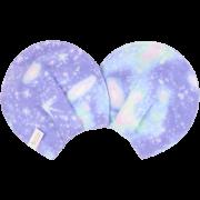 【ダブルガーゼ】 授乳がハッピーになる母乳パッド / 宇宙柄(アクアソーダ)