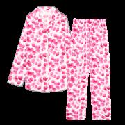 【 至福の夢見るパジャマ 】 ローズシャワー 【 マゼンタ 】
