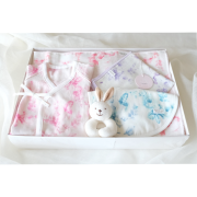 【BOX入り】 Babyギフト 〜ベビー5点セット〜