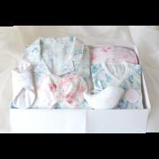 【BOX入り】 Mama Babyギフト 〜ベビーとお揃い6点セット〜