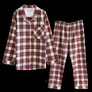 【 至福の夢見るぬくぬくパジャマ 】 タータンチェック ( ホワイトレッド )