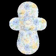 【ホルダー単品】 布ナプキン・Mサイズ(甘い香りのスイートフラワー・スイートブルー)