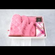 【BOX入り】キッチンアイテムセット(起毛リネン:ストロベリー)