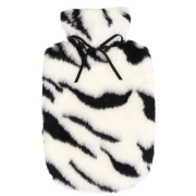 【至福のおこもり湯たんぽ】 トラ(ホワイト)