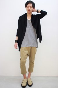 rehacer / Box Kite Cardigan<ボックスカイトカーディガン> #ブラック