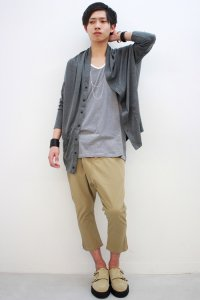 rehacer / Box Kite Cardigan<ボックスカイトカーディガン> #グレー