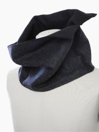 【2016AW 先行予約】PATRICK STEPHAN / Melton scarf 'compact' 162ASF22<リバーシブルスヌードマフラー(ネックウォーマー)> #3色展開