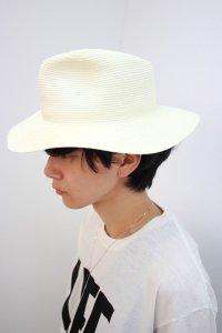 VICTIM × CA4LA[ヴィクティム] STRAW HAT<ヴィクティム × カシラ / ストローハット> #オフホワイト
