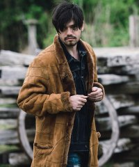 【2016AW 先行予約】glamb[グラム] Puzzle mouton coat<パズルムートンコート> #2色展開
