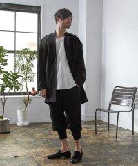 【2016AW 先行予約】glamb MONOTONE[グラム モノトーン] Big chester coat<ビッグチェスターコート> #ブラック