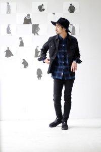 【2016A/W先行予約】VICTIM[ヴィクティム] DAMEGE CHECK SHIRTS<ダメージチェックシャツ> #2色展開