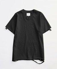 VICTIM [ヴィクティム] DAMEGE TEE<ダメージTシャツ> #ブラック