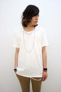 VICTIM [ヴィクティム] DAMEGE TEE<ダメージTシャツ> #ホワイト