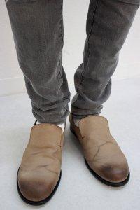glamb [グラム] Caleb shoes<キャレブシューズ> #ブラウンベージュ