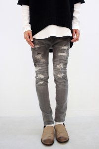 <img class='new_mark_img1' src='http://raystore.jp/img/new/icons2.gif' style='border:none;display:inline;margin:0px;padding:0px;width:auto;' />glamb [�����] Madison easy denim pants��ޥǥ�����Х��������ǥ˥�ѥ�ġ� #���졼