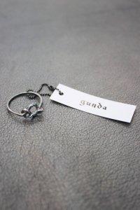 gunda [ガンダ] STEALTH RI(RING)<ステルスリング> #シルバー
