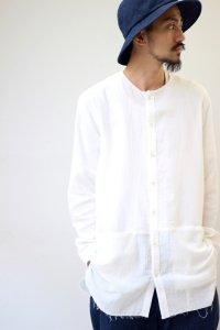 【2017SS 先行予約】VICTIM [ヴィクティム] LONG GAUZE SHIRTS<ロングガーゼシャツ> #3色展開