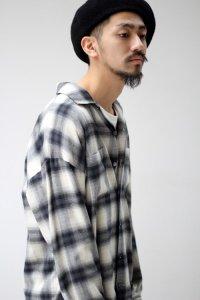 【2017SS 先行予約】VICTIM [ヴィクティム] LOOSE CHECK SHIRTS<ルーズチェックシャツ> #2色展開
