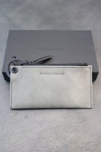 PATRICK STEPHAN [パトリックステファン] Leather key case & holder<レザー キーケース キーホルダー> #グレー