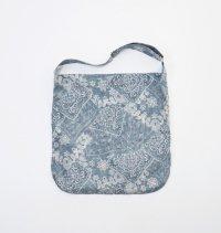 VICTIM [ヴィクティム] PAISLEY SHOLDER BAG<ペイズリーショルダーバッグ> #サックス