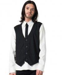 【2017AW先行予約】glamb [グラム] Crea fake layered SH<クレアフェイクレイヤードシャツ> 2色展開