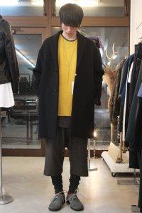 N.HOOLYWOOD [エヌハリウッド] 2B CHESTER COAT<ワイドチェスターコート> 172-CO02-029 pieces ブラック