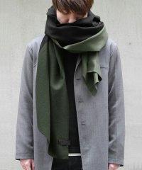 PATRICK STEPHAN [パトリックステファン] Jersey scarf 'wrap' 17aw<ビッグストール(ビッグマフラー)> カーキ(トープ)