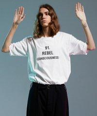 【2018SS先行予約】Wizzard [ウィザード] PRINT CUTSEW '91 REBEL'<プリントカットソー ビッグTシャツ> 2色展開