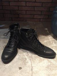 【2018SS先行予約】 glamb [グラム] GG0118 / AC01 : Black boots<ブラックブーツ> 1色展開