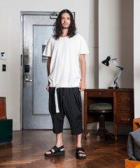 【2018SS先行予約】 glamb [グラム] GB0118 / MN10 : Cropped pants<クロップドパンツ> 2色展開