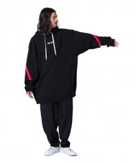 <img class='new_mark_img1' src='//img.shop-pro.jp/img/new/icons2.gif' style='border:none;display:inline;margin:0px;padding:0px;width:auto;' />glamb [グラム] Jude hoodie〈ジュードフーディービッグパーカー〉 ブラック