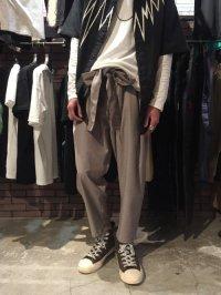 【2018SUMMER 先行予約】 glamb [グラム] GB0218 / MN13 : Maasai pants <ラップパンツ> 2色展開