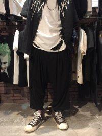 【2018SUMMER 先行予約】 glamb [グラム] GB0218 / MN10 : Tuck cropped pants <ワイドパンツ> 2色展開