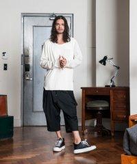 glamb [グラム] GB0118 / MN10 : Cropped pants<クロップドパンツ> ブラック