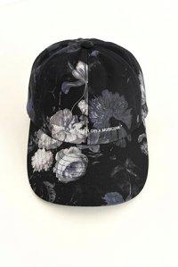 LAD MUSICIAN [ラッドミュージシャン] FLOWER CAP <フラワーキャップ(花柄)> 2218-922 ブルー
