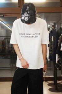 Wizzard [ウィザード] PRINT CUTSEW 'MAKE MORE NOISE'<プリントカットソー ビッグTシャツ> ホワイト