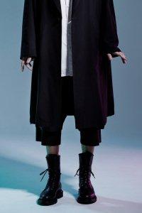Wizzard [ウィザード] LAYERED PANTS <レイヤードパンツ> ブラック