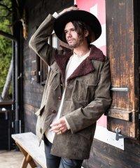 【2018AW 先行予約】 glamb [グラム] GB0318 / JKT11 : Lawrence ranch coat <ローレンスランチコート> 2色展開