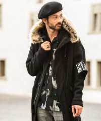 【2018AW 先行予約】 glamb [グラム] GB0318 / JKT04 : Samuel mods coat <サミュエルモッズコート> 2色展開