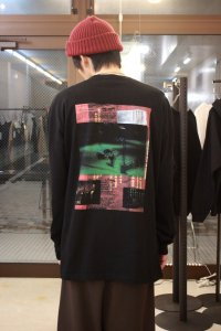 JieDa [ジエダ] GRAPHIC L/S T-SHIRT