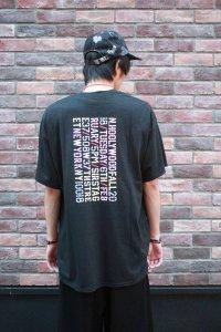 N.HOOLYWOOD [エヌハリウッド] COLLECTION LINE STAFF T SHIRT <コレクションライン スタッフTシャツ> ブラック