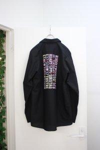 N.HOOLYWOOD [エヌハリウッド] COLLECTION LINE STAFF SHIRT <コレクションライン スタッフシャツ> ブラック