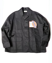 <img class='new_mark_img1' src='//img.shop-pro.jp/img/new/icons16.gif' style='border:none;display:inline;margin:0px;padding:0px;width:auto;' />【SALE 30%OFF】JieDa × Dickies [ジエダ×ディッキーズ] REMAKE COVER ALL <リメイクカバーオール(2018AW)> ブラック