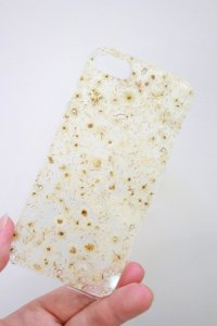 ANREALAGE [アンリアレイジ] iPhone8 & iPhone7 ACRYLIC FLOWER CASE <アクリルフラワー アイフォンケース> ホワイト