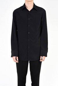LAD MUSICIAN [ラッドミュージシャン] DECHINE STANDARD SHIRT <デシンスタンダードシャツ> 2218-115 ブラック