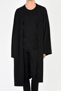 LAD MUSICIAN [ラッドミュージシャン] T-CLOTH KIMONO CARDIGAN <Tクロス キモノカーディガン> 2218-611 ブラック